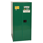 Eagle Pesticide Safety Cabinet with Manual Close - 60 Gallon