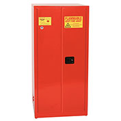 Eagle Paint/Ink Safety Cabinet with Manual Close - 96 Gallon Red