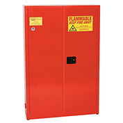 Eagle Paint/Ink Safety Cabinet with Manual Close - 30 Gallon Red
