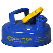 Eagle Type I Safety Can - 2 Quarts - Blue, UI-4-SB