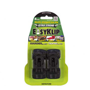EasyKlip® MIDI Tarp Clip Black 4101, 6 Packs of 4