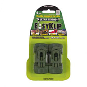 EasyKlip® MIDI Tarp Clip Green 4103, 6 Packs of 4