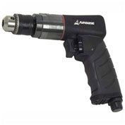 "EMAX EATDR03S1P, Industrial 3/8"" Reversible Air Drill, 6.1 CFM, 1/4"" Inlet"