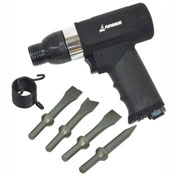 "EMAX EATHM80S1P, Industrial Composite Vibration-Dampening Air Hammer - 3000 BPM, 14 CFM, 1/4"" Inlet"