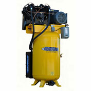 EMAX ESP07V080V1, 7.5HP, Two-Stage Piston Compressor, 80 Gallon, Vertical, 175 PSI, 1-Phase 208-230V