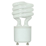 Ushio, 3000546, Compact Fluorescent Light Bulb, 18 Watt, Mini Twist, Warm White