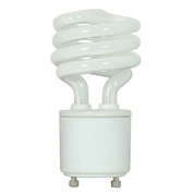 Ushio, 3000549, Compact Fluorescent Light Bulb, 23 Watt, Mini Twist, Cool White