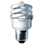 Philips, 413988, Fluorescent Light Bulb, 9 Watt, 120 Volts, Twist, Warm White