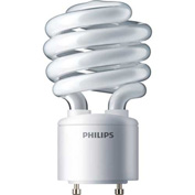 Philips, 417253, Fluorescent Light Bulb, 23 Watt, Twist, Warm White