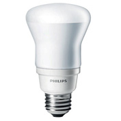 Philips, 426833, Saver Reflectors Fluorescent Light Bulb, 13 Watt, R20, Warm White