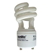 Sunlite, S00650, Light Bulb, 11 Watt, 120 Volts, Mini Twist, Warm White