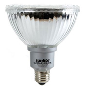 Sunlite, S05373, Outdoor Flood Bulb, 23 Watt, PAR38