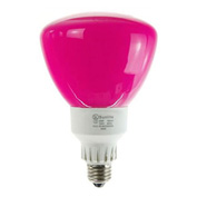 Sunlite, S05630, Colored Reflector Indoor Flood Bulb, 25 Watt, R40, Pink