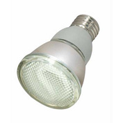 Satco, S7207, Fluorescent Light Bulb, 11 Watt, PAR20