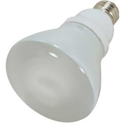 Satco, S7249, Fluorescent Light Bulb, 15 Watt, R30