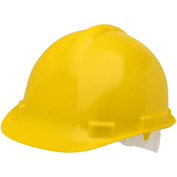 Elvex® VOLT™ Hard Hat W/4 Pt. Pin-Lock Suspension, Yellow, WELSC1004PY