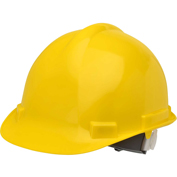 Elvex® VOLT™ Hard Hat W/4 Pt. Ratchet Suspension, Yellow,WELSC1004RY