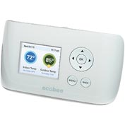 Ecobee Thermostat, Wi-Fi Enabled, TouchScreen, Residential, EB-SmartSI-01