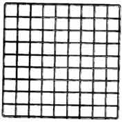 "14""L X 14""W Epoxy Coated Grid Cubbies - Black - Pkg Qty 48"