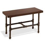 """Tower Table Frame 27""""W x 15""""D x 17""""H , PSDT, Anthracite Grey"""