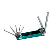 Eclipse 800-124 - 7 Pc Folding Hex Key Set - Metric
