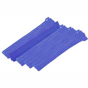 "Eclipse Tools 900-098-BU Cable Tie, Hook Tape, 8""L x 1/2""W, Blue, 25/Pk"