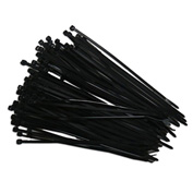 "Eclipse Tools 902-020 Cable Tie, 5-1/2"" x 1/7"", Black, 100 Pcs"