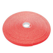 "Eclipse Tools 902-386 Hook & Loop Tape, 3/4""W, Red, 50 Ft/Roll"
