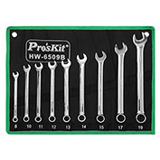 Eclipse HW-6509B 9 Pc Combination Wrench Set, Metric