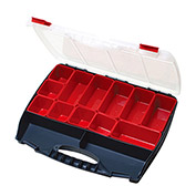 "Eclipse SB-4536B - 3 to 14 Adjustable Compartment Storage Box, 17-3/4""L x 14-1/4""W x 3""H"