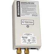 Eemax EX35 Electric Tankless Water Heater, Flo-Controlled Point Of Use - 3.5KW 240V 15A