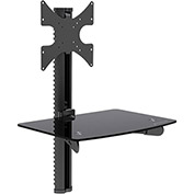"GForce® TV Wall Mount Combination for 23"" to 42"" TV's & DVD/AV Components"