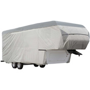 Eevelle Expedition Fifth Wheel Trailer Cover 37'-41' Long, Gray - EXFW3741