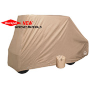 Eevelle GreenLine Converted 2 Passenger Flip Down or Rear Seat, Tan - GLCCV2