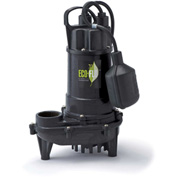 Eco-Flo ECD33W Submersible Sump Pump, Cast Iron, 1/3 HP, 3300 GPH