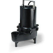 Eco-Flo ESE50M Submersible Sewage Pump, Cast Iron, 1/2 HP