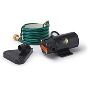 Eco-Flo PUP61 Portable Light Weight Utility Pump W/6 Ft Garden Hose & Extra Impeller Kit - 360 GPH