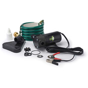 Eco-Flo PUP61DC Portable Light Weight Utility Pump W/6 Ft Garden Hose & Suction Accessory -360 GPH