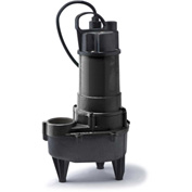 Eco-Flo RSE50M Submersible Sewage Pump, Cast Iron, 1/2 HP