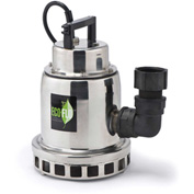 Eco-Flo SEP33M Submersible Water Fall Fountain Pump, Stainless Steel, 1/3 HP