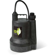Eco-Flo SUP54 Submersible Utility Pump, Manual, 1/6 HP, 1680 GPH