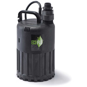 Eco-Flo SUP56 Submersible Utility Pump, Manual, 1/3 HP, 2880 GPH