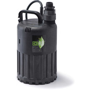 Eco-Flo SUP80 Submersible Utility Pump, Manual, 1/2 HP, 3180 GPH