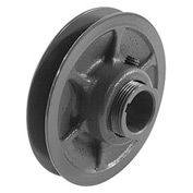 """Single-Groove Variable Pitch Sheave, 5/8"""" Bore, 3.75"""" O. D., 1VP40X5/8"""