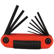 Ergo-Fold™ Hex Key Sets, EKLIND TOOL 25912