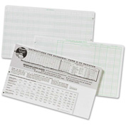 "Ekonomik® Check Register Form 8-5/8"" x 14-3/4"" White 1 Each"