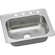 Dayton® DSE125223 Elite Stainless Steel Single Bowl Top Mount Sink