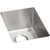 Elkay Crosstown ECTRU12179 Stainless Steel Single Bowl Undermount Kitchen Sink, 13-1/2 x 18-1/2