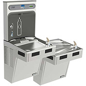 Elkay EMABFTLDDWSSK EZH2O Water Bottle Refilling Station, Bi-Level, Non Refrigerated,Stainless Steel