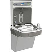 Elkay EZS8WSVRLK EZH2O Water Bottle Refilling Station w/Single ADA EZ Cooler, Refrig., Light Gray
